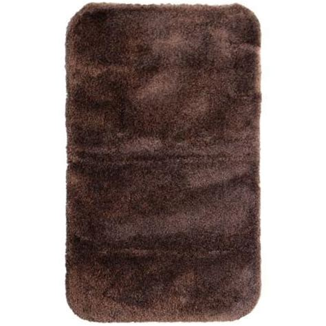 mohawk rugs discontinued mohawk regency espresso 24 in x 40 in bath rug discontinued 229565 at the home depot