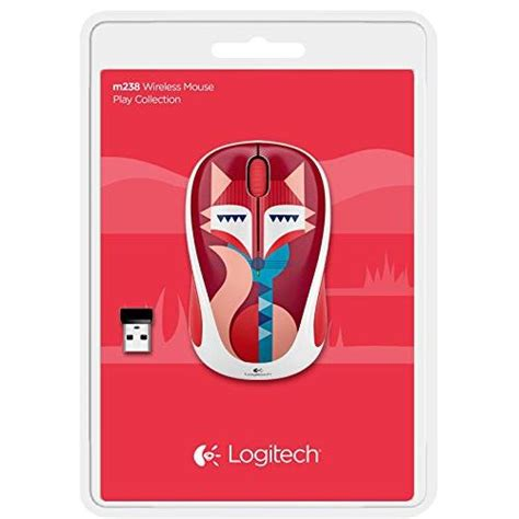 Mouse Wireless Logitech M238 Fox Limited logitech wireless mouse m238 fox elevenia