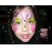 Maquillaje De Fantasia Con Mariposas