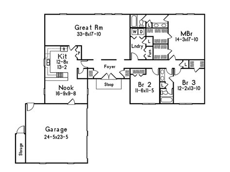 contemporary ranch floor plans contemporary ranch home plan 001d 0083 house plans and more