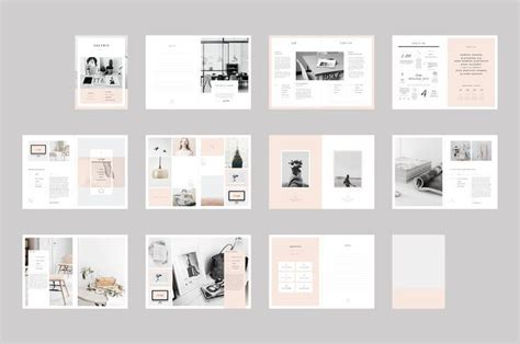 Graphic Design Proposal Template Indesign Google Search Editorial Design Pinterest Photography Portfolio Template Indesign Free
