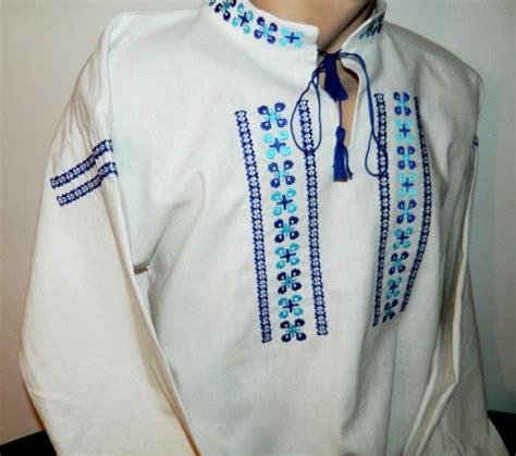 populare de ie romaneasca broderii si cusaturi romanesti