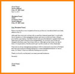 Letter Of Resignation Template Word Free by Doc 694951 Resignation Letter Sle In Word 18 Photos