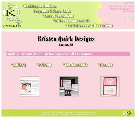 invitation designing website custom invitation website design