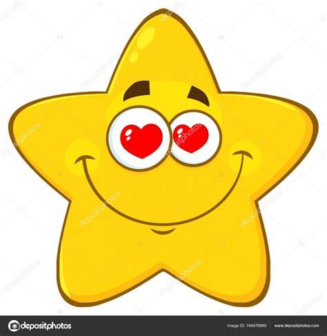 imagenes de estrellas navideñas animadas personaje de dibujos animados de estrellas de ojos de