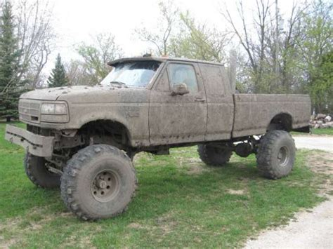 muddy truck big trucks mudding