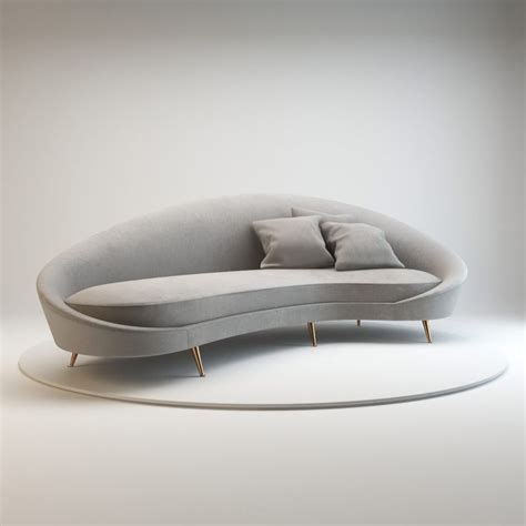 rounded couches 25 best ideas about curved sofa on pinterest curved