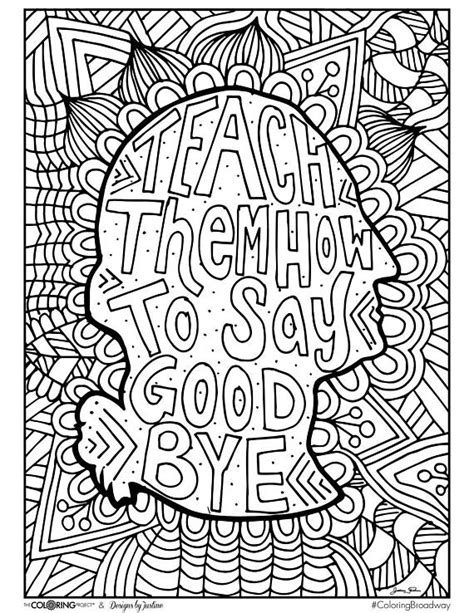 hard music coloring pages hamilton teach broadway coloring pages musical theater