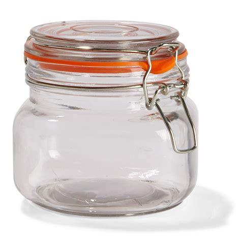 glass jars clip lid glass jar 550ml kmart