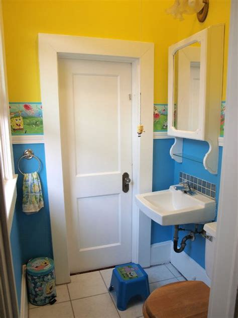 spongebob bathroom decor spongebob bathroom spongebob pinterest boys