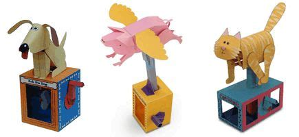 How To Make Toys Out Of Paper - paper animation kits animated paper