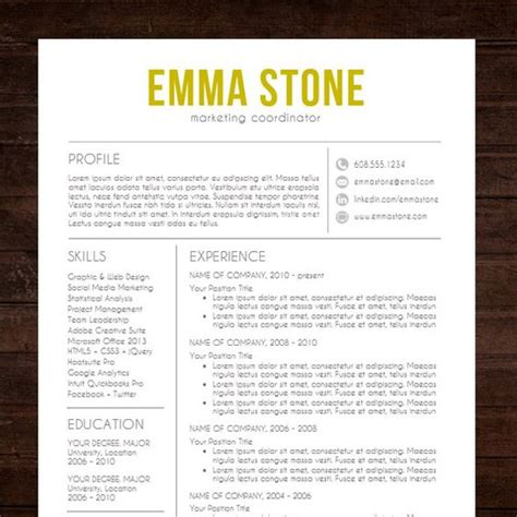 Professional Resume Design Templates by Resume Cv Template Quot The Quot Resume Design In Gold