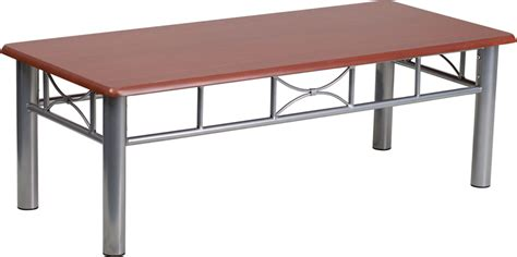 Commercial Coffee Table Commercial Coffee Table With Silver Steel Frame And Mahogany Laminate Top Bar Restaurant