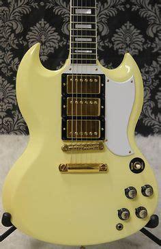 Gitar Elektrik Tele Ivory White gibson custom shop sg special reissue electric guitar