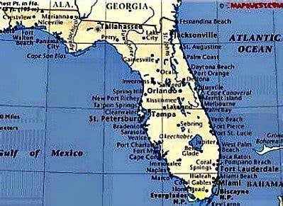 map of florida east coast map of florida east coast map3