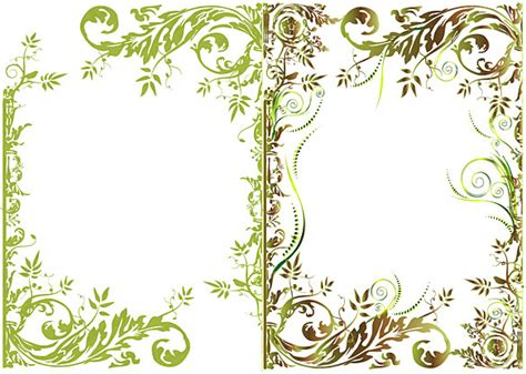 floral pattern frame vector vector floral border free vector download 11 516 free