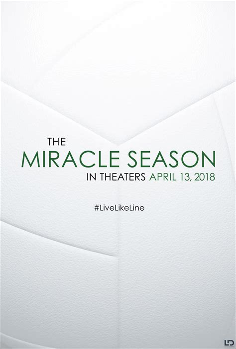 The Miracle Season Coming Out The Miracle Season 2018 Poster 2 Trailer Addict