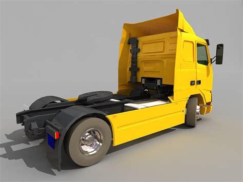 volvo semi truck models volvo fh semi truck 3d model 3ds max files free