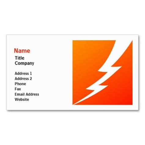 lightning link template 2168 best images about bold business cards on