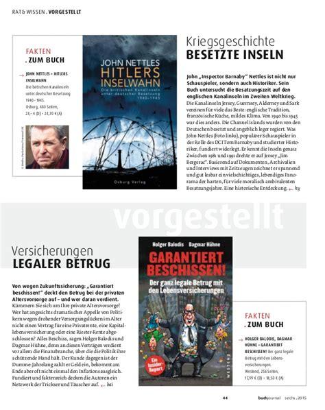 Buchjournal Buchhandlung B 246 Hnert