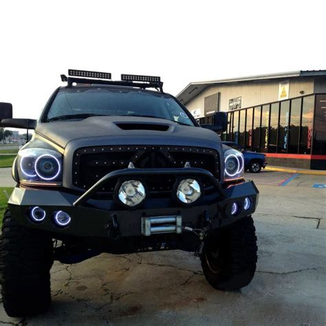 oracle lights for dodge ram oracle halo lights for dodge ram 2006 2008 dodge ram led