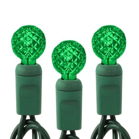 70 green g12 bulbs led string light