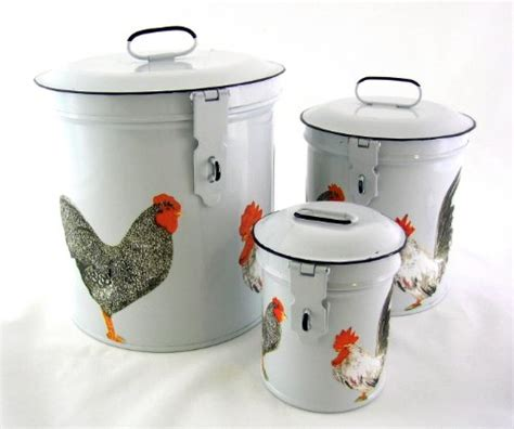 rooster canisters kitchen products rooster themed kitchen
