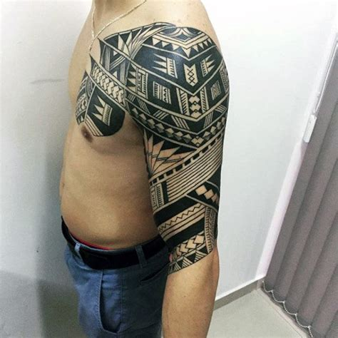 stomach tattoos for black men collection of 25 black polynesian tattoos on stomach