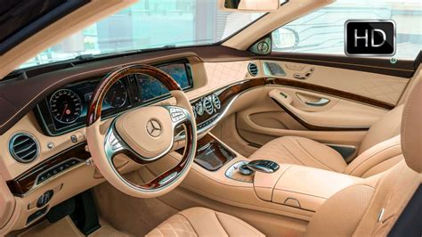 Nicest Car Interiors by 2016 Mercedes Maybach S600 Luxury Car Interior Design Hd