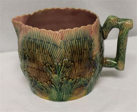 Bargain John's Antiques   Majolica Etruscan Shell and