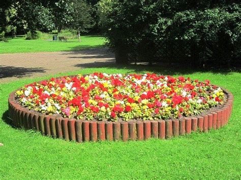 Flower Garden Border Ideas Distinctive Flower Garden Design And Style Suggestions For Your Property