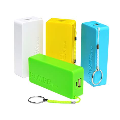 Power Bank Gmc 5600mah 5600mah 18650 power bank universal usb external backup battery for iphone mobile power portabl