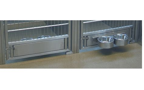 Custom Floor Plans Free by The Stainless Steel Dog Kennel Rotating Bowl Feeder From