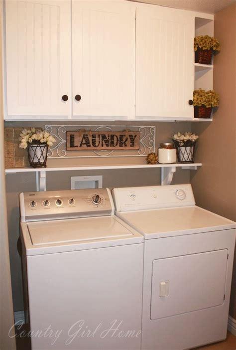 Washer Shelf by Best 25 Washer Dryer Shelf Ideas On Laundry