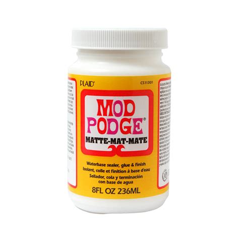 mod podge matte finish mod podge matte finish sealer hobbies and beyond