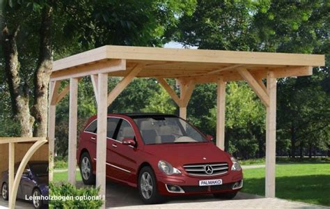Small Car Port by Small Carport Holz Garage Kiel Natur Car Ports