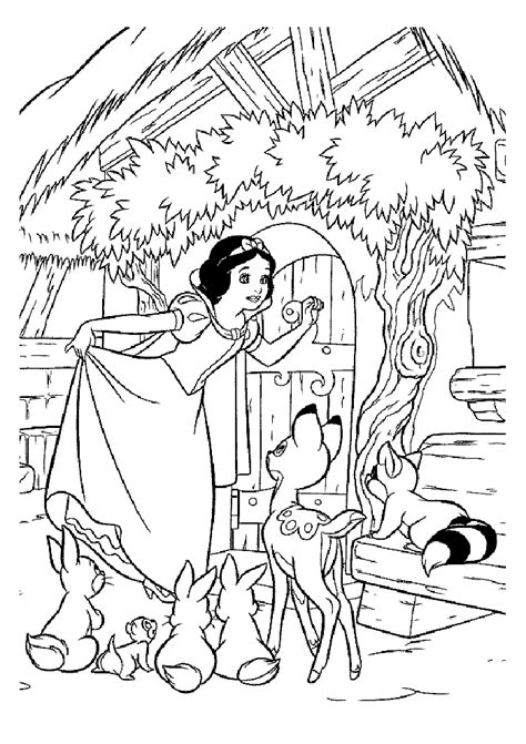 snow white coloring pages fantasy coloring pages