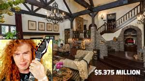 Sunken Living Room you can own megadeth frontman dave mustaine s san diego