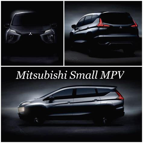 mitsubishi expander hitam mitsubishi expander mitsubishi xm production tease front