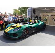 Lotus 3 Eleven Debuts At 2015 Goodwood Festival Of Speed