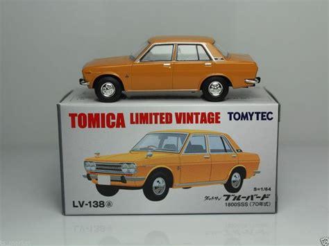 Tomica Cars C 23 tomica limited vintage tomytec lv 138a datsun bluebird