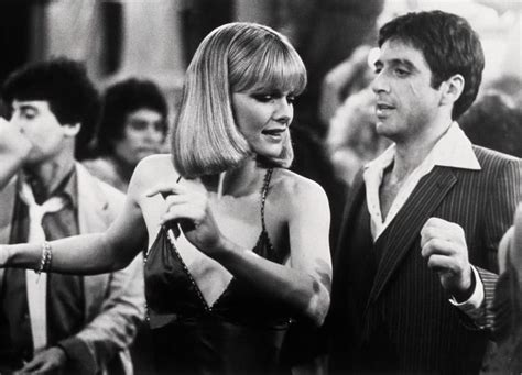 film gangster al pacino michelle pfeiffer with al pacino in scarface directed by