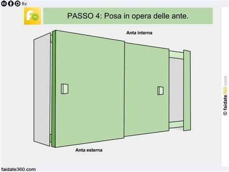 costruire armadio a muro ante scorrevoli armadio a muro fai da te con ante scorrevoli progetto e