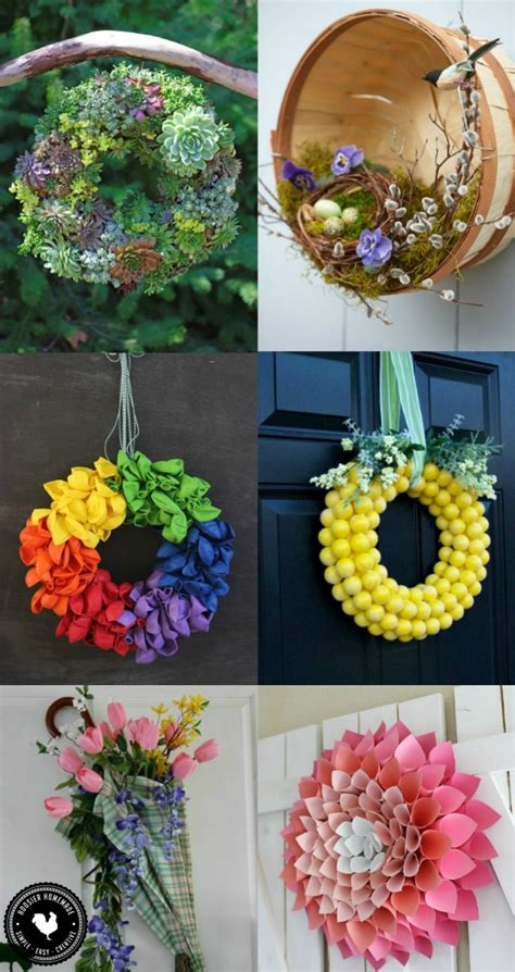 spring wreath ideas to make spring wreath ideas hoosier homemade