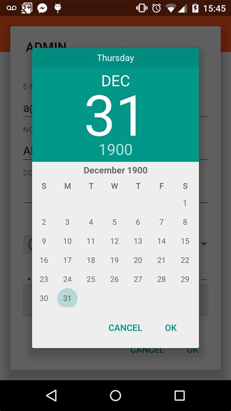 android date android datepickerdialog display year picker stack overflow