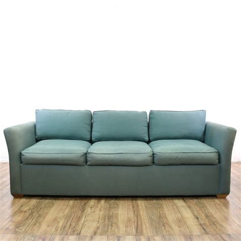 couch san diego contemporary blue sleeper sofa bed loveseat vintage