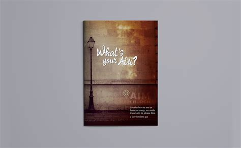 Church Brochure Design by Feldman Kieffer Brochure Design Typework Studio Design
