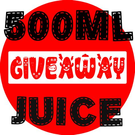 E Juice Giveaway - our biggest baddest e liquid giveaway 500ml luckyvaper com