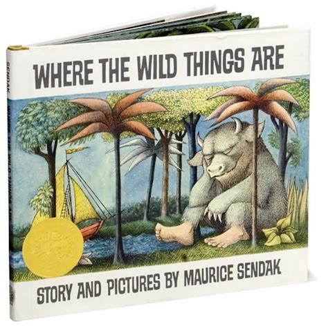 where the things are picture book up where the things are nerdy with children