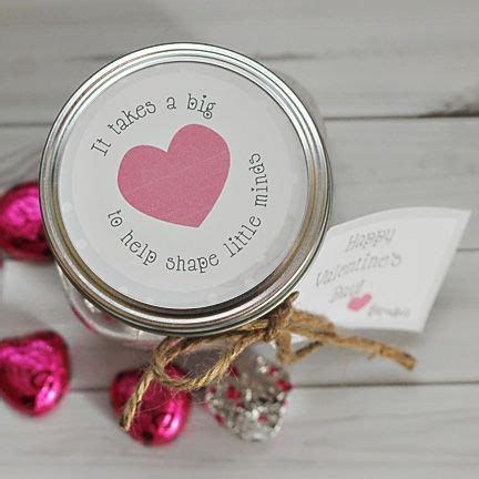 Jars, Cute teacher gifts and Make labels on Pinterest